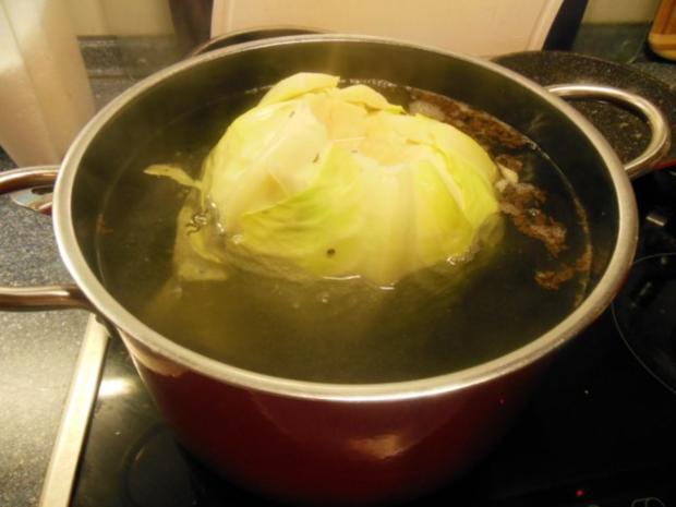 Kochen: Kohlrouladen - Rezept - Bild Nr. 3
