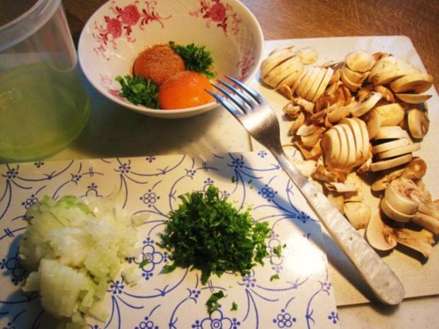 Champignon-Omelett ... - Rezept - Bild Nr. 4