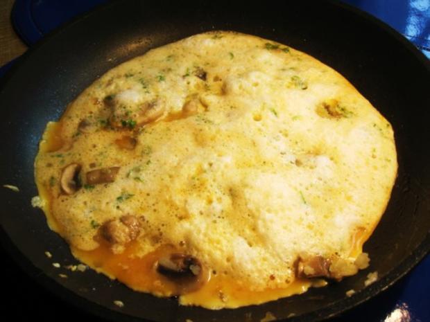 Champignon-Omelett ... - Rezept - Bild Nr. 6