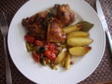 Provenzialisches Hähnchen aus dem Ofen - Rezept