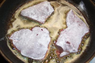 Rinderleber mit Zwiebeln - Rezept