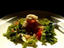 Kohlrabi-Säckchen mit Salat - Rezept