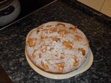 Äpfel im Sand(kuchen) - Rezept