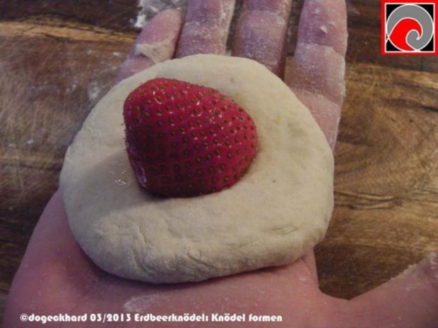 Süßer Erdbeerknödel - Rezept - Bild Nr. 6