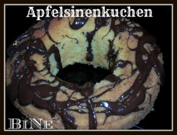 BiNe` S APFELSINENKUCHEN - Rezept