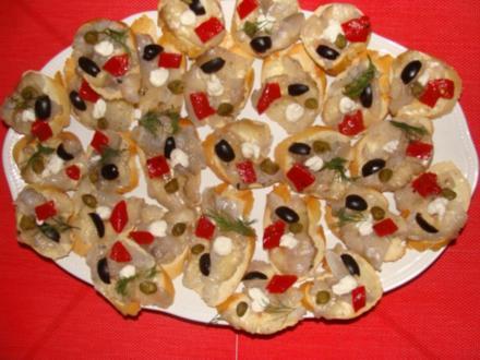 Abendbrot : Gebeiztes Zanderfilet mit Haut - Rezept