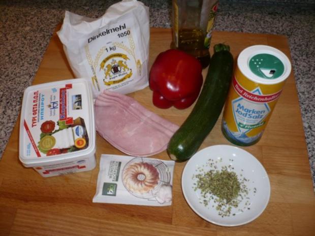 Hefefreie Pizza mit saftigem Schafskäserand (histaminfrei) - Rezept - Bild Nr. 2