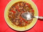 Fleisch : Chili con  carne mexicana - Rezept