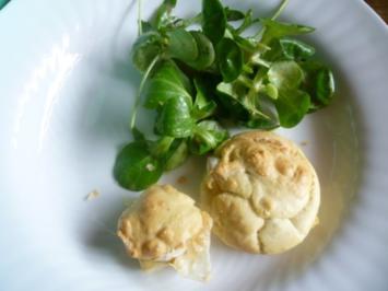 Mini-Muffins mit Ziegenkäse - Rezept