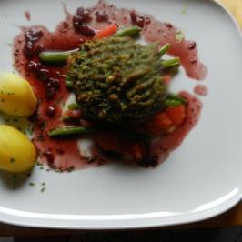 Heikes Oster-Lammsteak mit Parmesankruste - Rezept