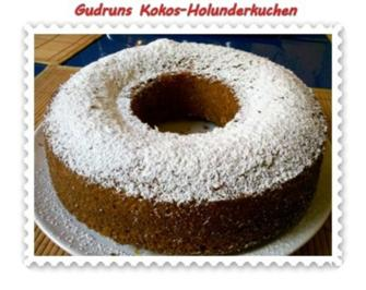 Kuchen: Kokos-Holunderblütenkuchen - Rezept