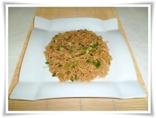 Gebratene Chinesische Nudeln mit Bulette - Rezept - Bild Nr. 19