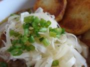 Südtiroler Zwiebelsuppe mit Bratkartoffel & Bergkäse Topping - Rezept