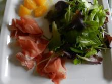 Feldsalat mit KnoblauchOrangen - Rezept