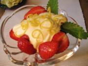 Erdbeer-Dessert im Festtagskleid ... - Rezept