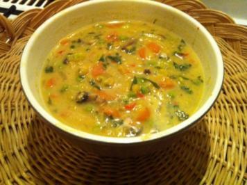 Göttliches Gemüse-Dhal - Rezept