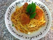 Spaghetti meatballs - Rezept