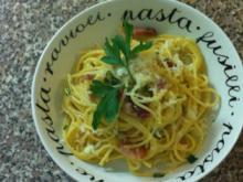 Spaghetti Carbonara ohne Sahne - Rezept