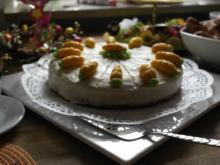 Osterkuchen! Rüblitorte im Frischkäsemantel - Rezept