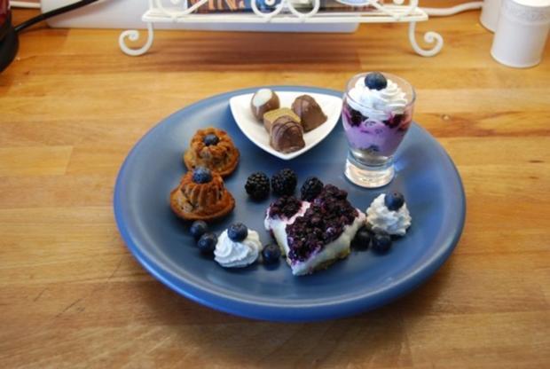 Cheesecake mit Sourcreame & Blueberries - Rezept - Bild Nr. 4