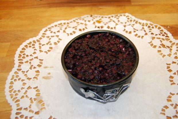 Cheesecake mit Sourcreame & Blueberries - Rezept - Bild Nr. 2