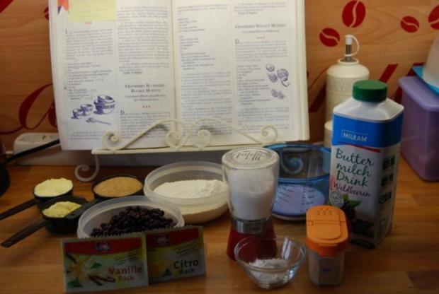 Cheesecake mit Sourcreame & Blueberries - Rezept - Bild Nr. 3