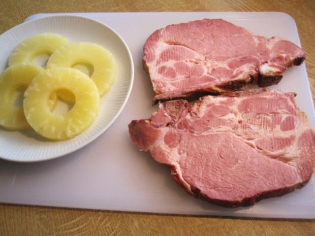 Kasseler Kotelett mit Ananas ... - Rezept - Bild Nr. 2