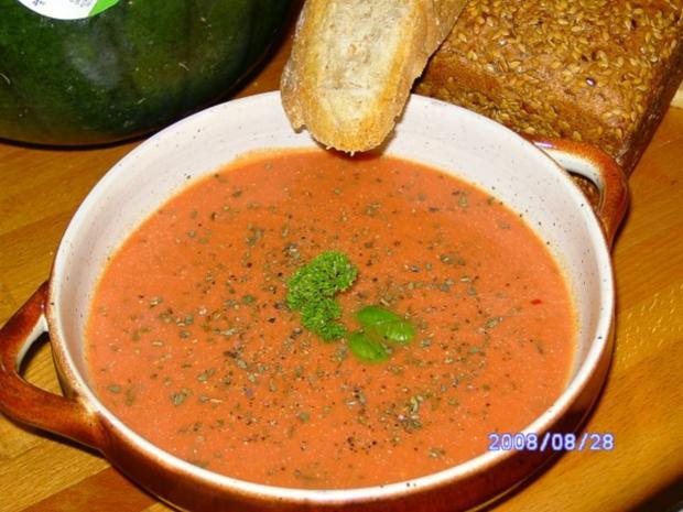 tomatensuppe schnell einfach gesund rezept mit bild. Black Bedroom Furniture Sets. Home Design Ideas