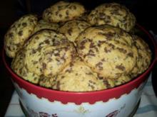 Schokostreusel-Vanille-Cookies - Rezept