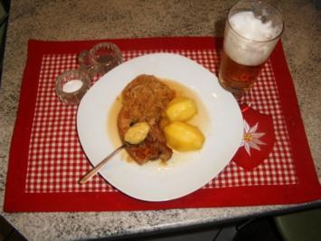 Sauerkraut-Schweinebauch - Rezept