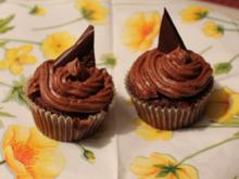 Schoko-Nutella-Cupcakes - Rezept