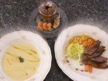 Drei-Gänge-Ostermenü: Günstig und lecker - Rezept