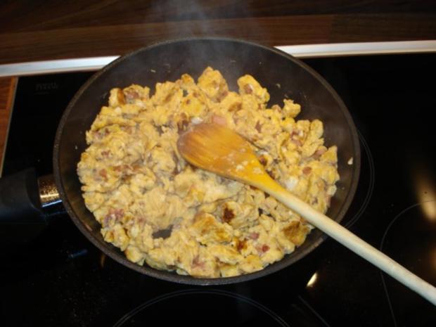 Nudeln mit Eier und Speck - Rezept - Bild Nr. 2