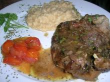 Ossobuco alla milanese (Kalbshaxe nach Mailänder Art) - Rezept