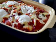Auberginen-Lasagne - Rezept
