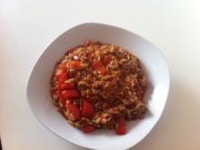 Paprika-Hack-Reis-Pfanne - Rezept