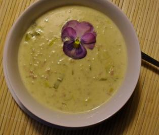 Käse - Suppe - Rezept