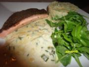 Lachs Forelle in Honig Curry Sauce - Rezept