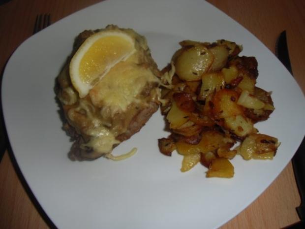 Steak au four - Steaks mit Würzfleisch - Rezept