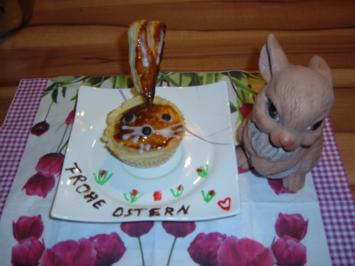 Kuchen : Hasen aus Blätterteig - Rezept