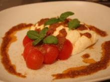 Tomate-Mozzarella mit Ricotta-Walnusspesto - Rezept