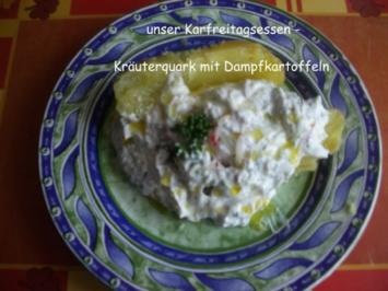 Kräuterquark mit Dampfkartoffeln - Rezept