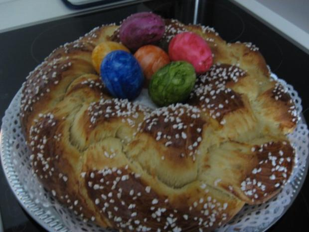 Oster-Kranz - Rezept