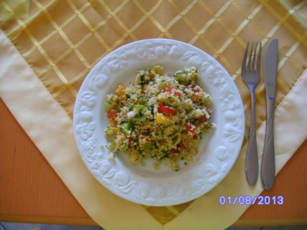 CousCous Salat mit Sojasauce - Rezept - Bild Nr. 3