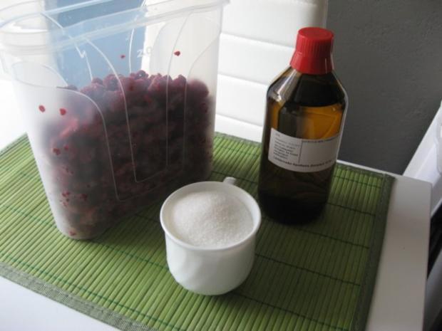 """""""Lamponcello"""".........mein italienisch angehauchter Himbeer-Likör - Rezept - Bild Nr. 2"""