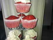 Red Velvet Muffins - Rezept