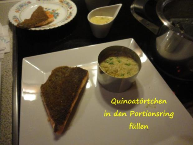 Quinoa Törtchen - Rezept - Bild Nr. 9