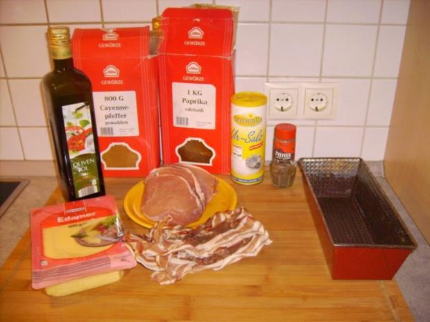 Schichtbraten in der Kuchenform - Rezept - Bild Nr. 2