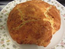 Osterbrot mit Mandeln - Rezept