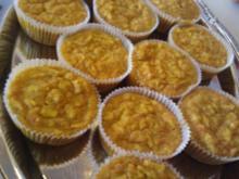 Apfel- Möhren- Kokos- Muffins - Rezept
